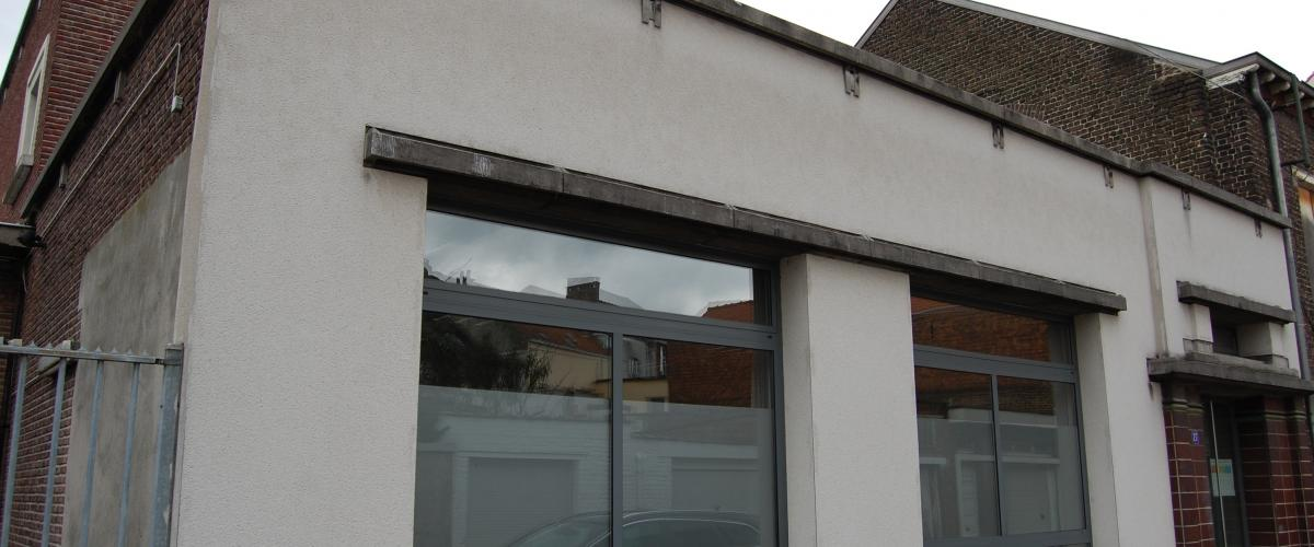 ArVD | home | Architecture | Vincent Deketelaere |  Academie | Vilvoorde | Bolwerkstraat | 't Bad