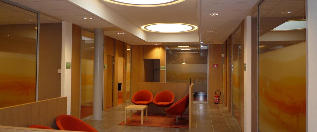 ArVD | home | Architecture | Vincent Deketelaere | Bureaux | BNP Waterloo